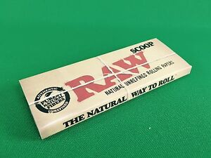 RAW Scoop Card Rolling Paper with Measuring Guide Non-Stick