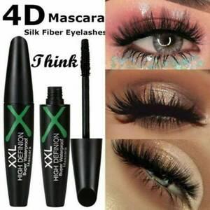 4D-Mascara-Silk-Fibre-Waterproof-Eyelashes-Lash-Long-Lasting-Extension-Make-Up