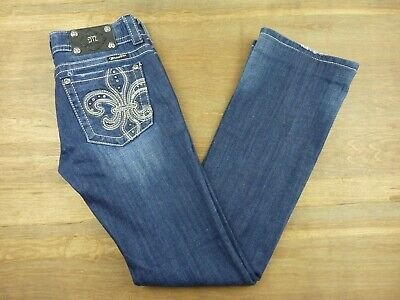 Clothing, Shoes & Accessories Methodical Miss Me Jeans Womens Juniors Size 27 Boot Cut Medium Wash Jeans Jp514582 Packing Of Nominated Brand Jeans