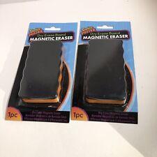 Darice Dry Erase Magnetic Whiteboard Eraser Lot Of 2 New 082676783555