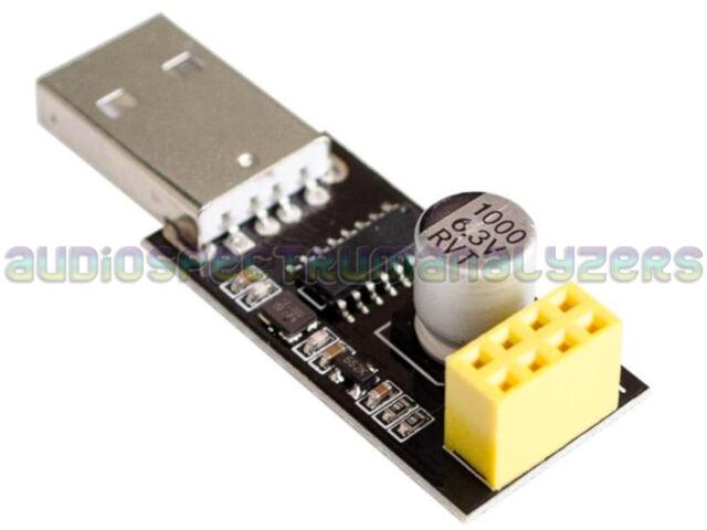 USB ESP8266 ESP-01 Wifi CH340 Serial Adapter Module Board - UK SELLER