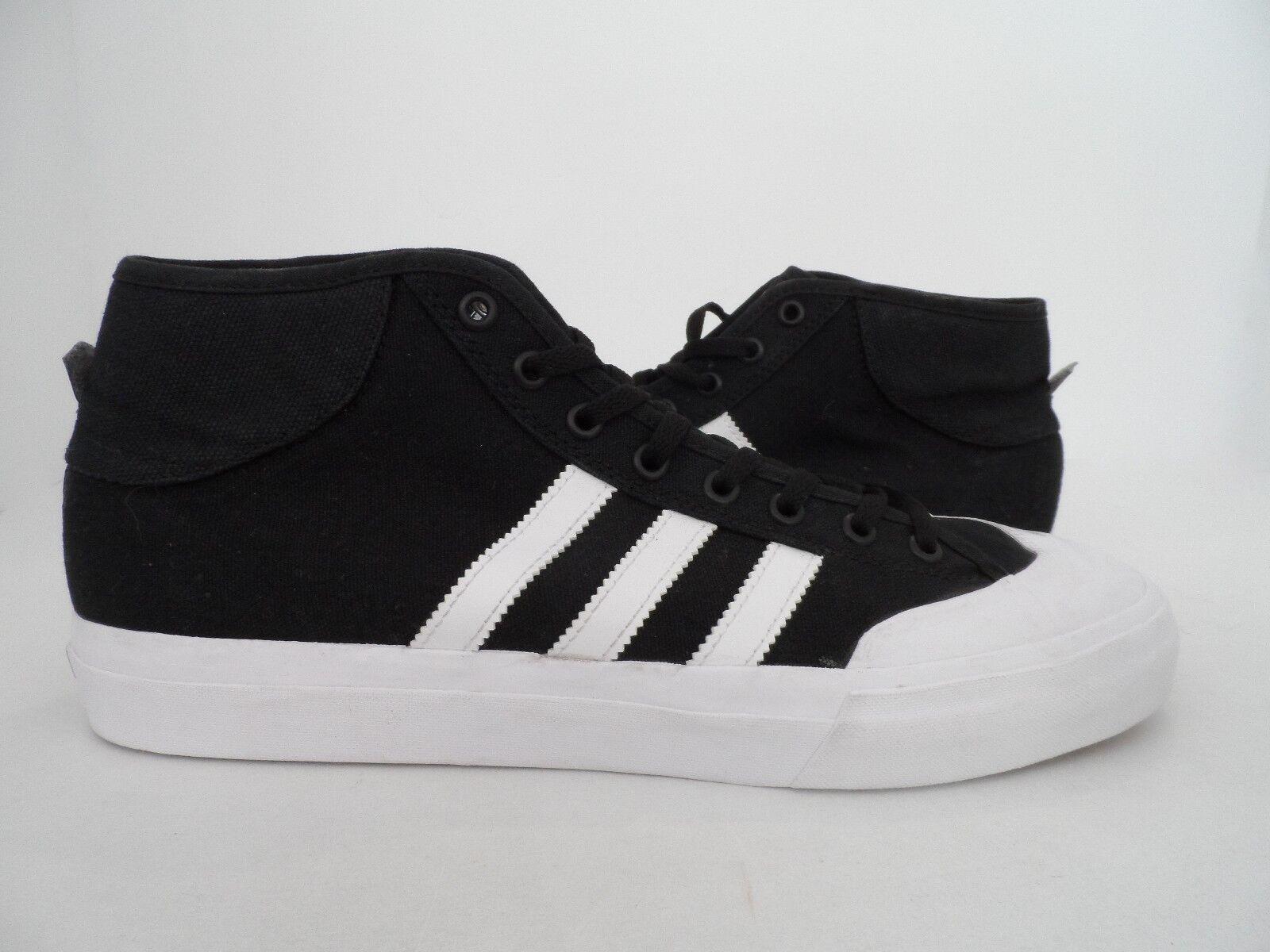 adidas Férfi Méretezési Központ Mid Skateboarding Cipők Fekete / Felhő Fehér Méret 11