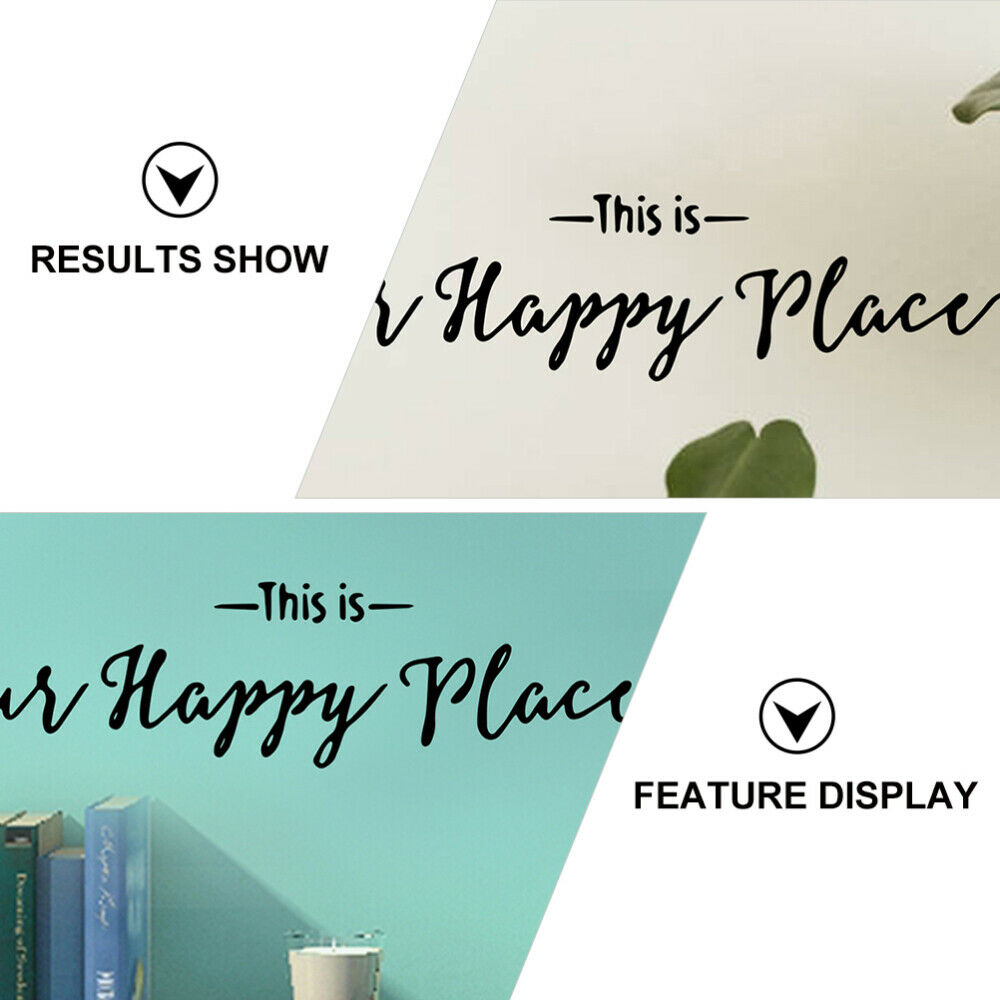 2pcs Sticky Home Removable Background Wall Decors Wall Stickers