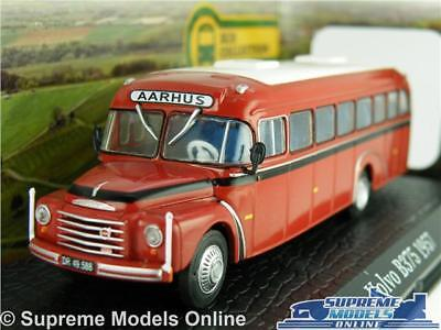 VOLVO B375 MODEL COACH BUS 1:76 SIZE ATLAS IXO 7163125 CLASSIC 1957 T4