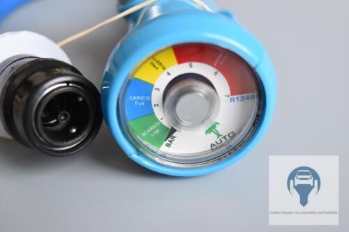 Kfz-climatisation MANOMÈTRE réfrigérant diagnostic basse pression r134a Anschlus 5//16