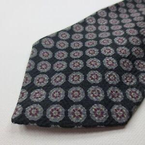 Amherst-amp-Brock-100-Silk-Mens-Necktie-Multi-Color-Floral-Foulard-Tie-R128