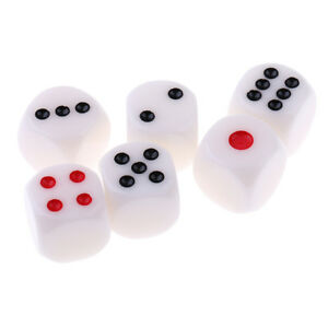 6Pcs-set-16mm-D6-6-Sided-Opaque-Single-Betting-Blind-Dices-Board-Game-Supply