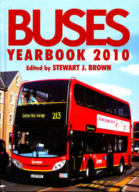 BUSES YEARBOOK 2010 London,West Midland Ailsa,Optare Solo,Maidstone & District