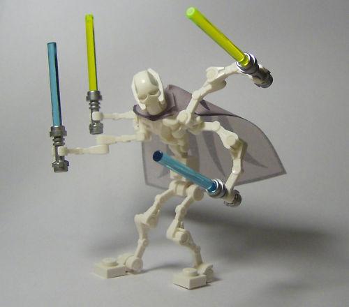 NEW   LEGO Star Wars General General General Grievous Minifig MINT  bd4657