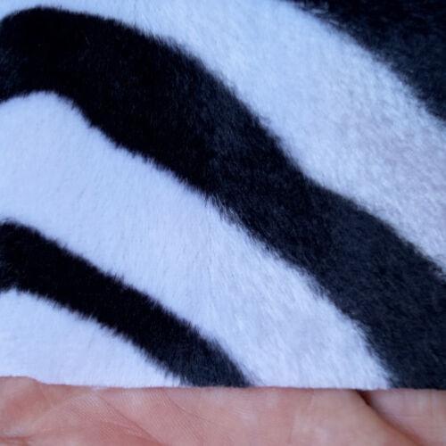 Pelaje METERWARE de imitación piel sintética webpelz cebra animal pelaje animal-prints