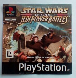 * Incrustation Avant Seulement * Star Wars Jedi Power Battles Inlay Ps1 Psone Playstation-afficher Le Titre D'origine A2lz1u1c-07160117-814492744