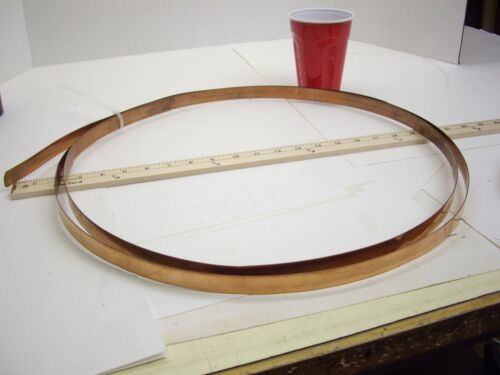 Copper Strap For Jewelry Making 3//4 inch wide by .025 thick by 10 feet