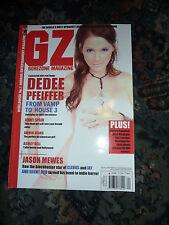 GOREZONE UK #62 (2010) Dedee Pfeiffer, Amber Heard, Jason Mewes, DVD reviews.
