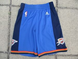 Short-basket-OKC-OKLAHOMA-CITY-THUNDER-ADIDAS-NBA-bleu-10-ans