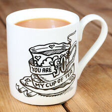 NUOVO Sei così la mia tazza di tè Tatuaggio Flash Fine Bone China tazza regalo personalizzato