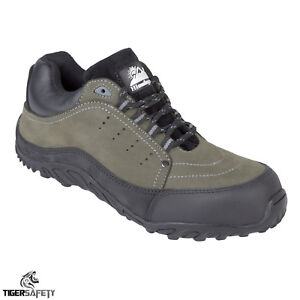 Himalayan Mens Safety Trainers Suede Leather Iconic Skater Shoes Steel Midsole