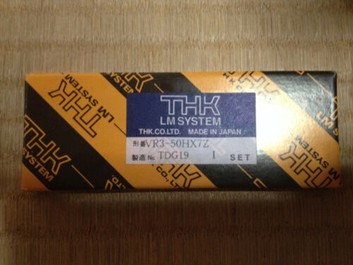 NIB NEW THK VR3-50HX7Z CROSS ROLLER GUIDE NEW High Grade 1 Sets 4rails 2cages