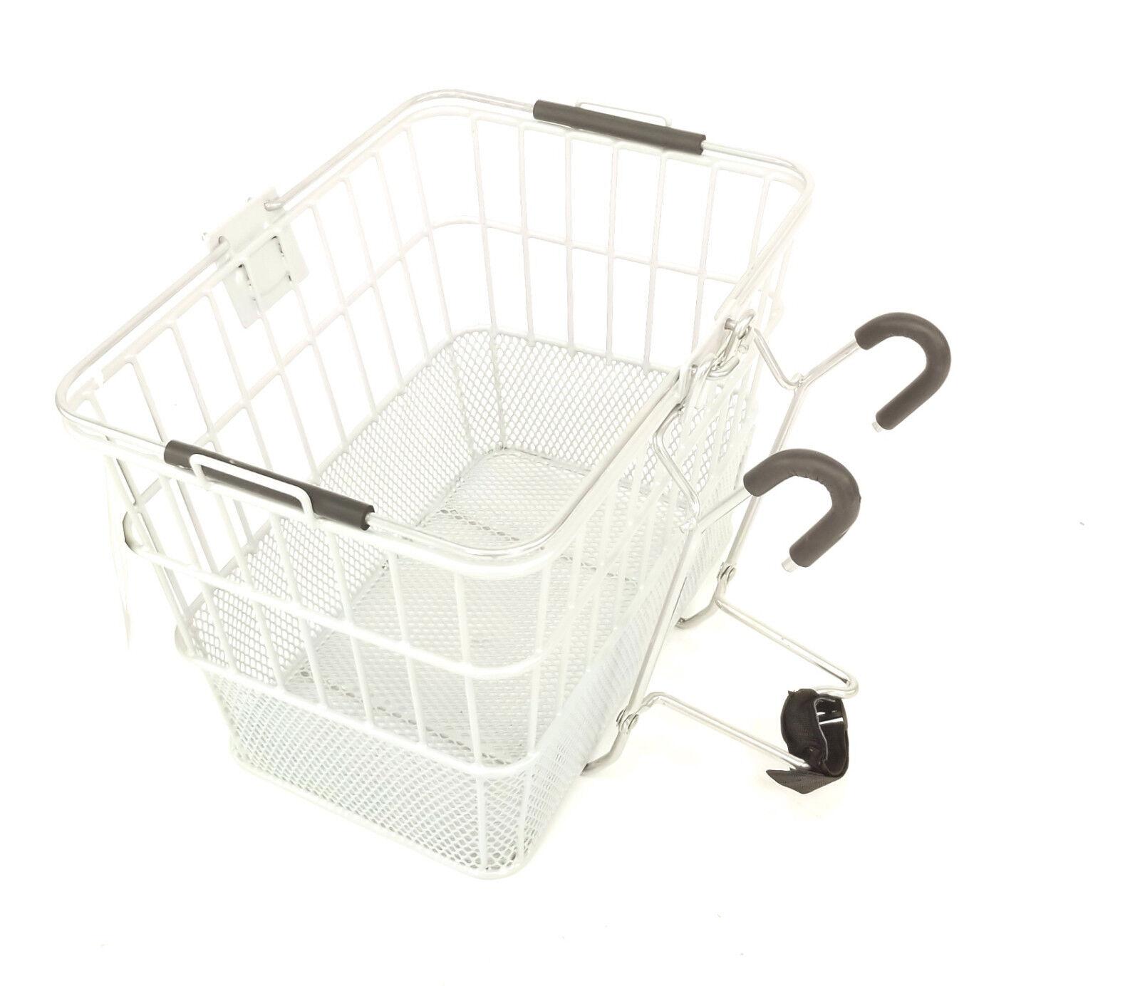 Ultracycle Hook & Go Mesh Bicycle Basket, White   floor price