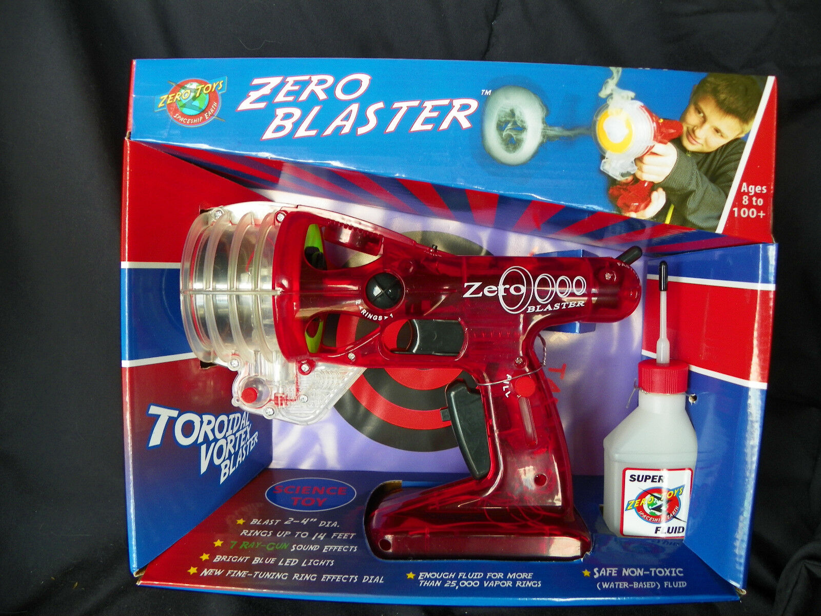 Zero Blaster - Science Toy - Red-Blue & Green 2