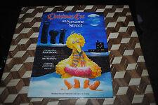 Christmas on Sesame Street Vntage Hardcover Book 1981 1st Print HC BIG BIRD NICE