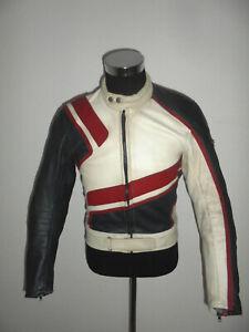 RABERG Lederkombi Zweiteiler Motorradkombi biker oldschool 90s vintage racing 50