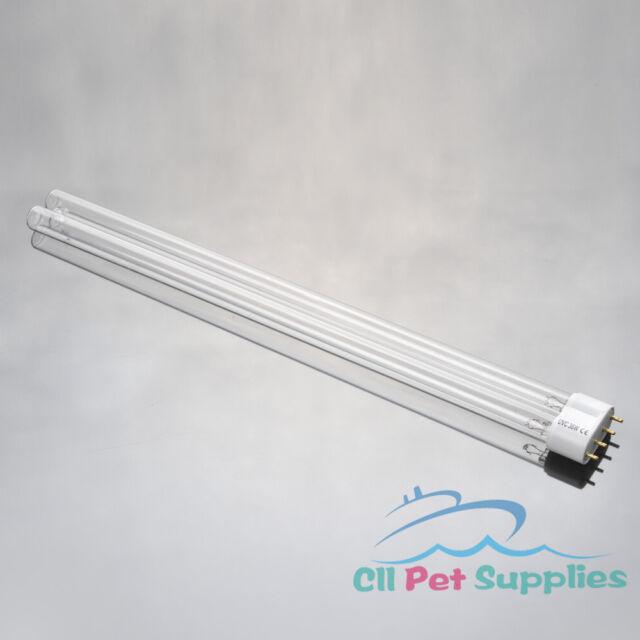 1 PC UV Light Bulb 36W Watt 2G11 Base for Aquarium UVC Sterilizer