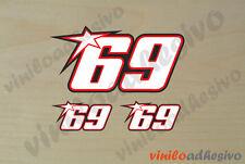 PEGATINA STICKER VINILO Nicky Hayden 69 motorbike autocollant aufkleber adesivi