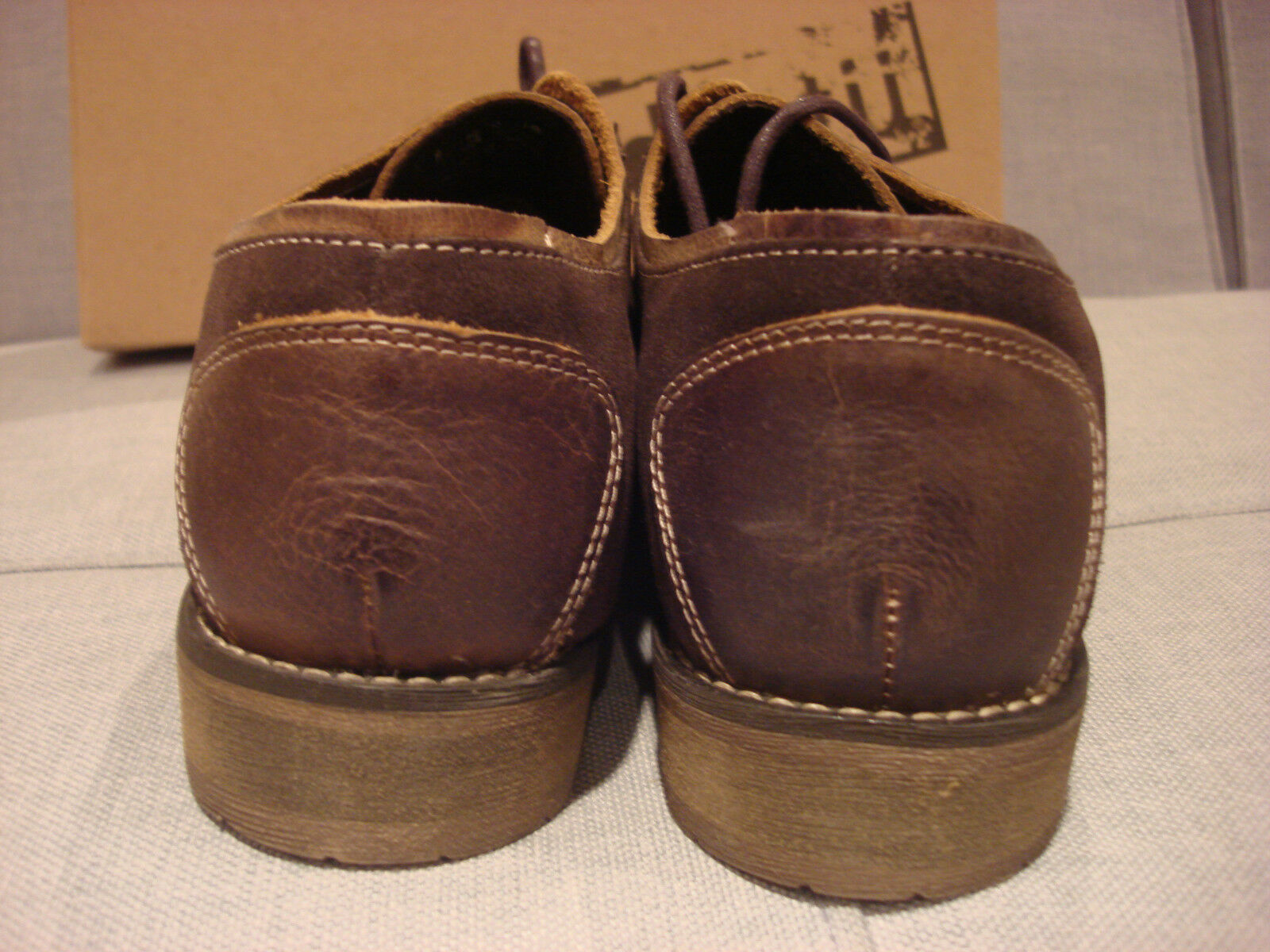 BED STU MEN'S REPEAL TAN GREENLAND DARK BROWN BRAND Schuhe SIZE 9 - BRAND BROWN NEW - NWT 054ba5