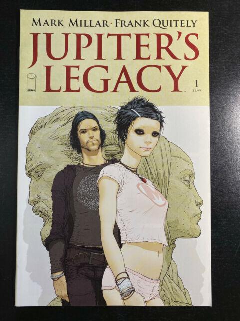 Jupiter's Legacy 1 04/13 Image Frank Quitely Cover A 1st print Netflix NM