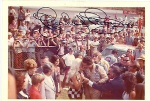 RARE! RICHARD PETTY 1973 autographed #61 photo NASCAR HALL OF FAMER 2011 1 of 1