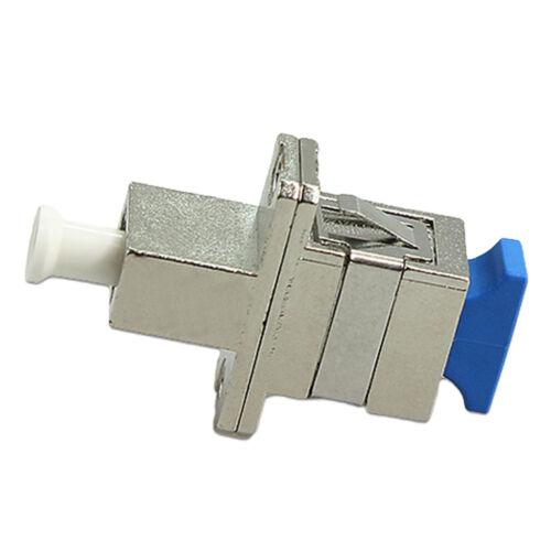 Optical Adaptor Coupler SC to LC Female Fiber Coupler High Precision