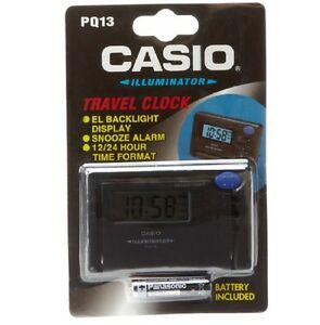Casio-Clock-PQ13-1HK-Digital-Travel-Clock-Black-Ivanandsophia-COD-PayPal