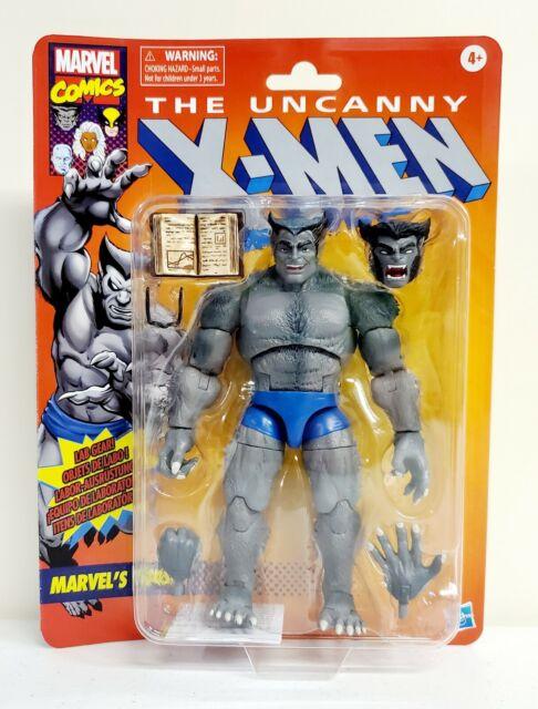 2020 Marvel Legends Retro Uncanny X-Men Marvels Beast Action Figure Hasbro