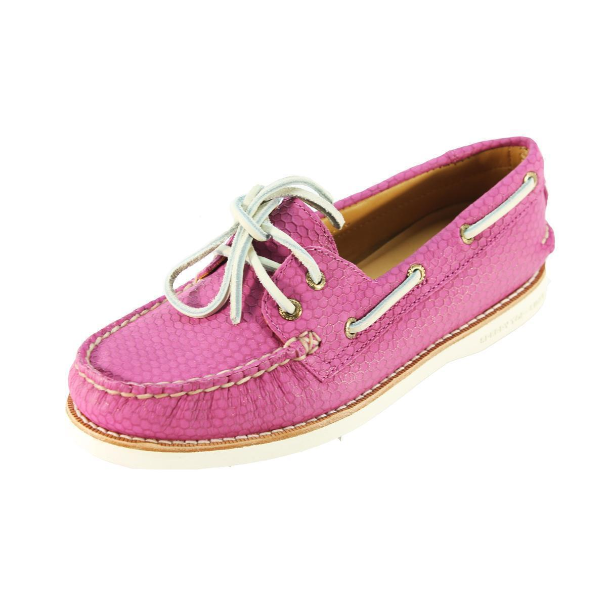 Sperry Top-Sider Gold Cup A/O Donna Pink Boat 5 Shoe  STS95569 SZ 5 Boat M 458a79