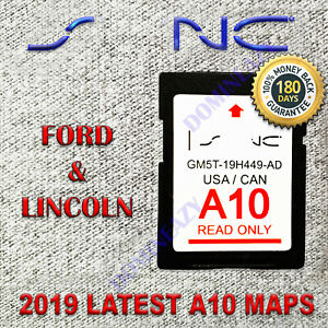 ford lincoln latest navigation sd card gps  map   sync update   ebay