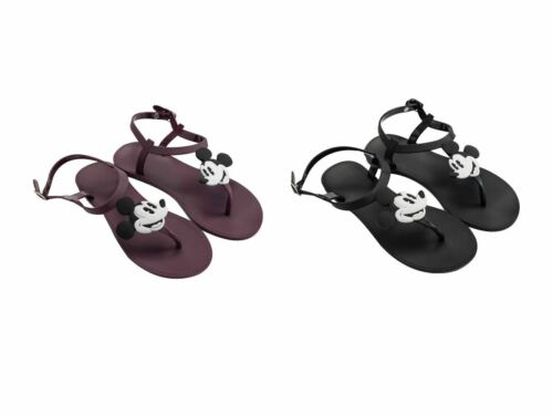 Disney Mickey Mouse Summer Sandals Pvc Flip Flops Slippers Shoes  For Girls