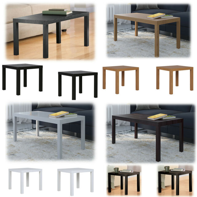 Remarkable 3 Piece Coffee Table Set End Modern Contemporary Wood Nightstand Brown Furniture Inzonedesignstudio Interior Chair Design Inzonedesignstudiocom