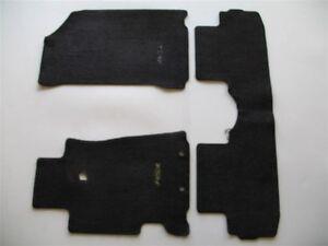 ACURA RSX BLACK CARPET FLOOR MATS RUGS OEM GENUINE - Acura rsx floor mats
