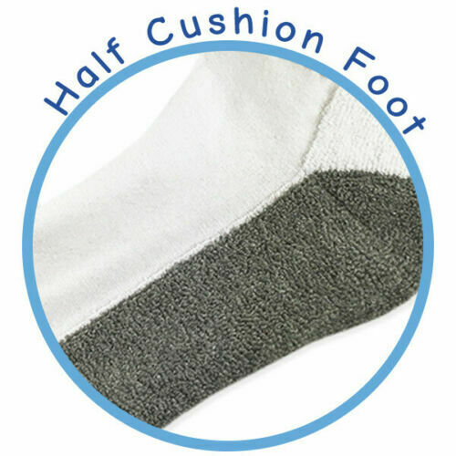 Jefferies Socks Mens Quarter Ankle Sports Cotton Seamless Low Cut Socks 3 Pair