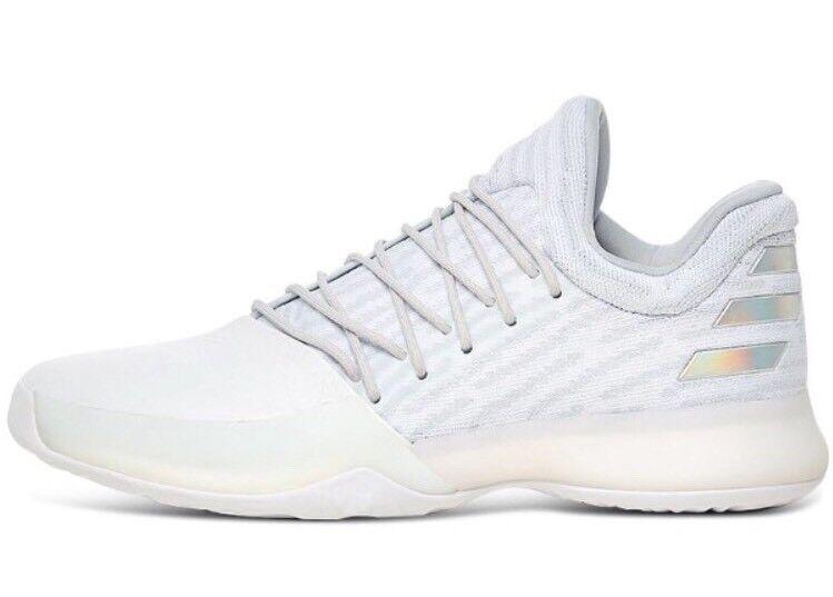 Adidas James Boost Harden Vol 1 PK Boost James Triple White XMAS 17 Basketball Shoes B39495 5dc2bc