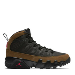 95efae89f5822f Men s Nike Air Jordan Retro 9 Boot NRG Olives Fashion Casual AR4491 ...