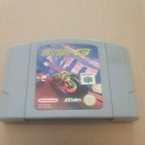 N64 juego Extreme G solo carro PAL