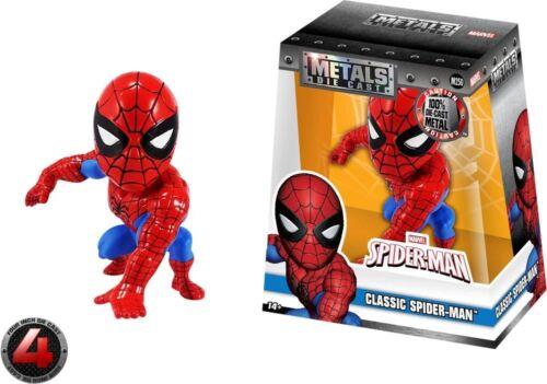 "Jada Metals BRAND NEW /& RARE IN STOCK NOW Classic Spiderman 4/"" Action Figure"