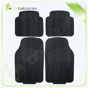 4PC Black Floor Mats Carpet Fit for 2006-2010 Honda Civic 2Dr Coupe