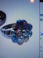 Avon Sparkling Rainbow Ring Multi Color