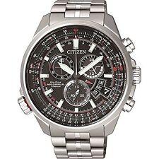 Citizen Eco-Drive Radio Control Titanium Watch. Sapphire Glass BY0120-54E