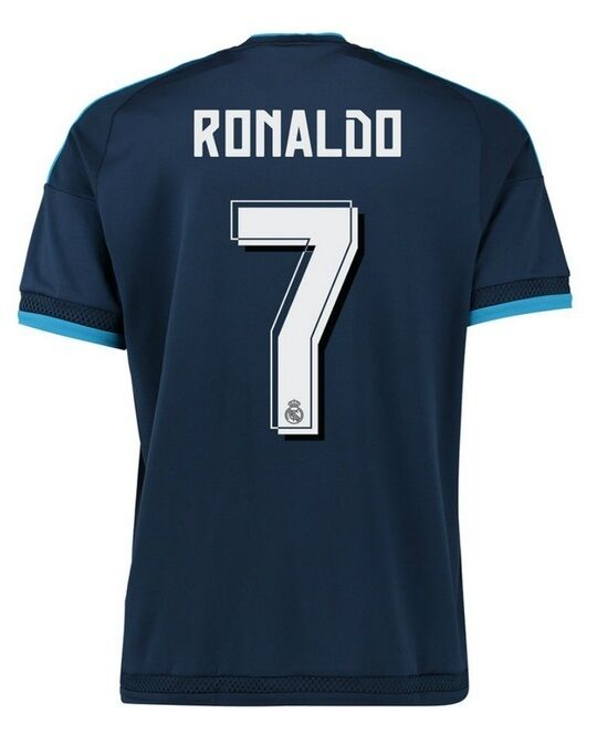 Trikot Adidas Real Madrid 2015-2016 2015-2016 2015-2016 Third WC - Ronaldo 7  CR7 3rd ac5e57