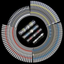 100Pcs Lötverbinder Quetschverbinder Schrumpfverbinder Kabelschuhe 0.25~6mm²  #