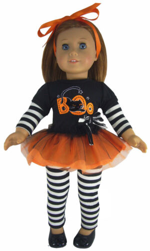 Adorable Halloween Outfit for 18quot American Girl Doll Clothes Sew Beautiful