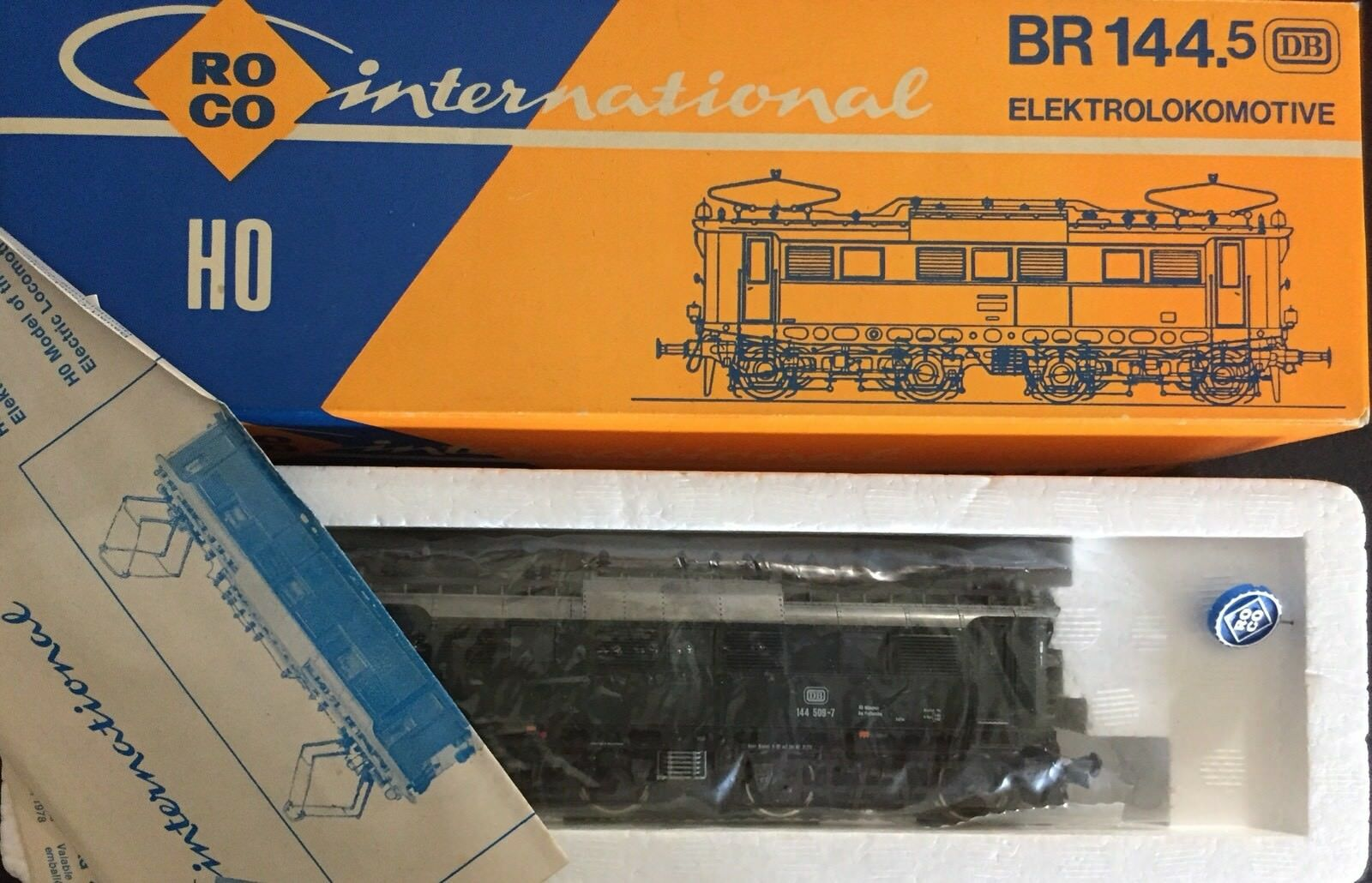 ROCO INTERNATIONAL 04130S ELEKTROLOKOMOTIVE BR 144.5